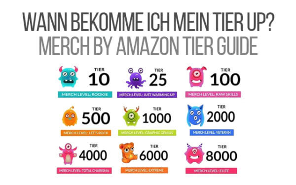 Merch by Amazon TIer Guide