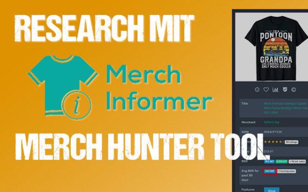 Research mit Merch Informer